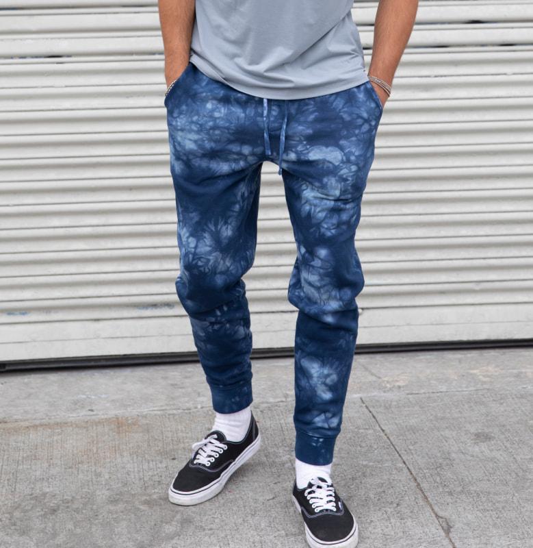 Tie-Dyed Fleece Pants - PRM50PTTD