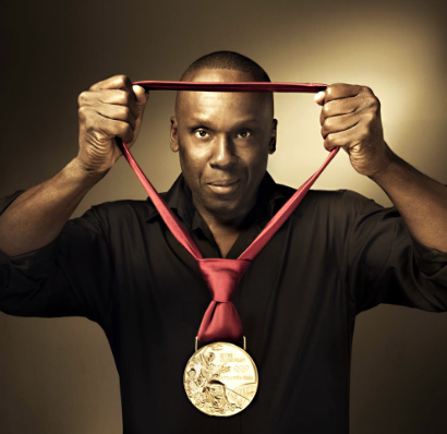 Bruny Surin Olympic gold medalist